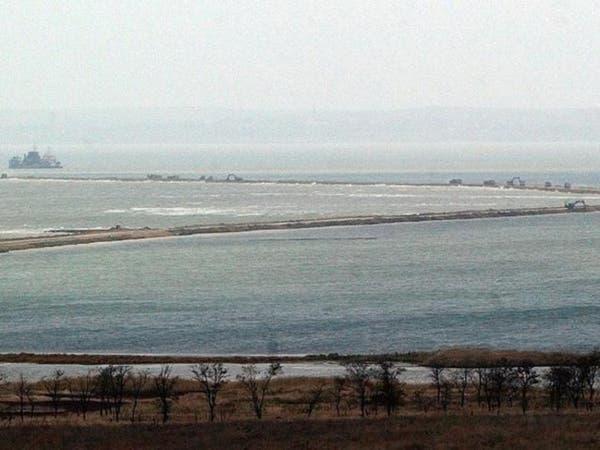 روسيا تبني جسرا يربطها بالقرم تكلفته 3 مليارات دولار