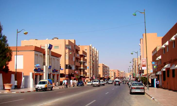مدينة العيون في إقليم الصحراء الغربية