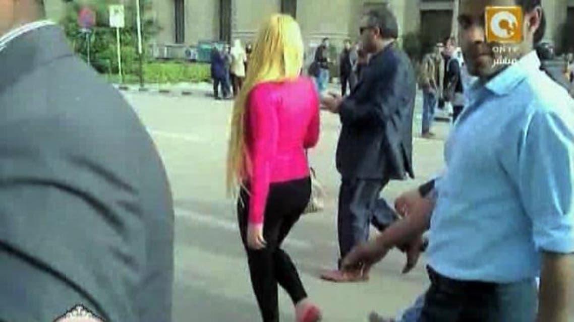 فتاة التحرش مصر
