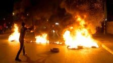 """لبنان.. استهداف للجيش وقطع طرقات و""""جند أسامة"""" تتبنى"""