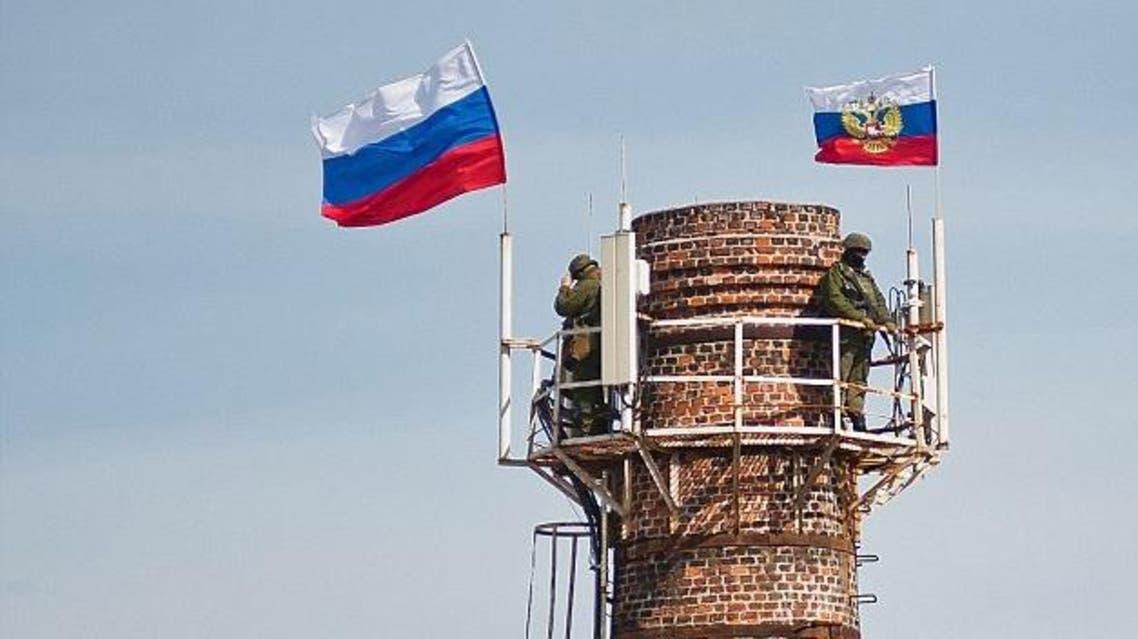قوات روسية تسيطر على قاعدة اوكرانية
