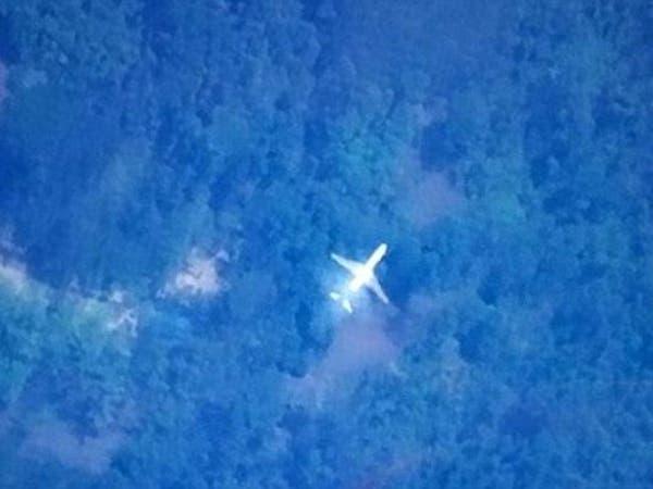 هل هذه الصورة للطائرة الماليزية المفقودة؟