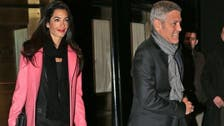 Clooney, Lebanese lawyer snapped after holiday together