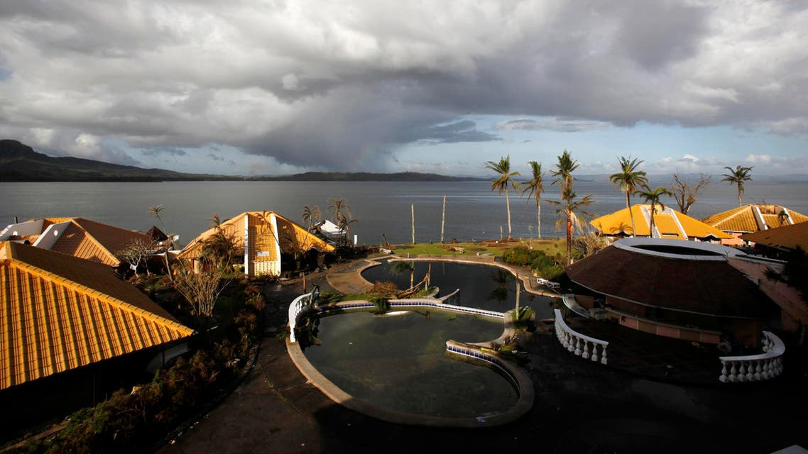 A general view of a seaside resort in Tacloban November 14, 2013. (Reuters)
