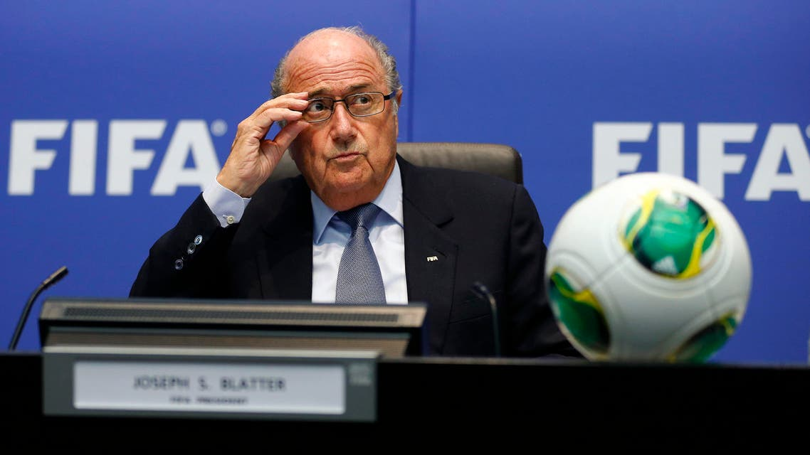 MPs urged FIFA, which is led by President Sepp Blatter (pictured), to investigate claims made by a Qatari firm to one of the football organization's former executives. (File photo: Reuters)