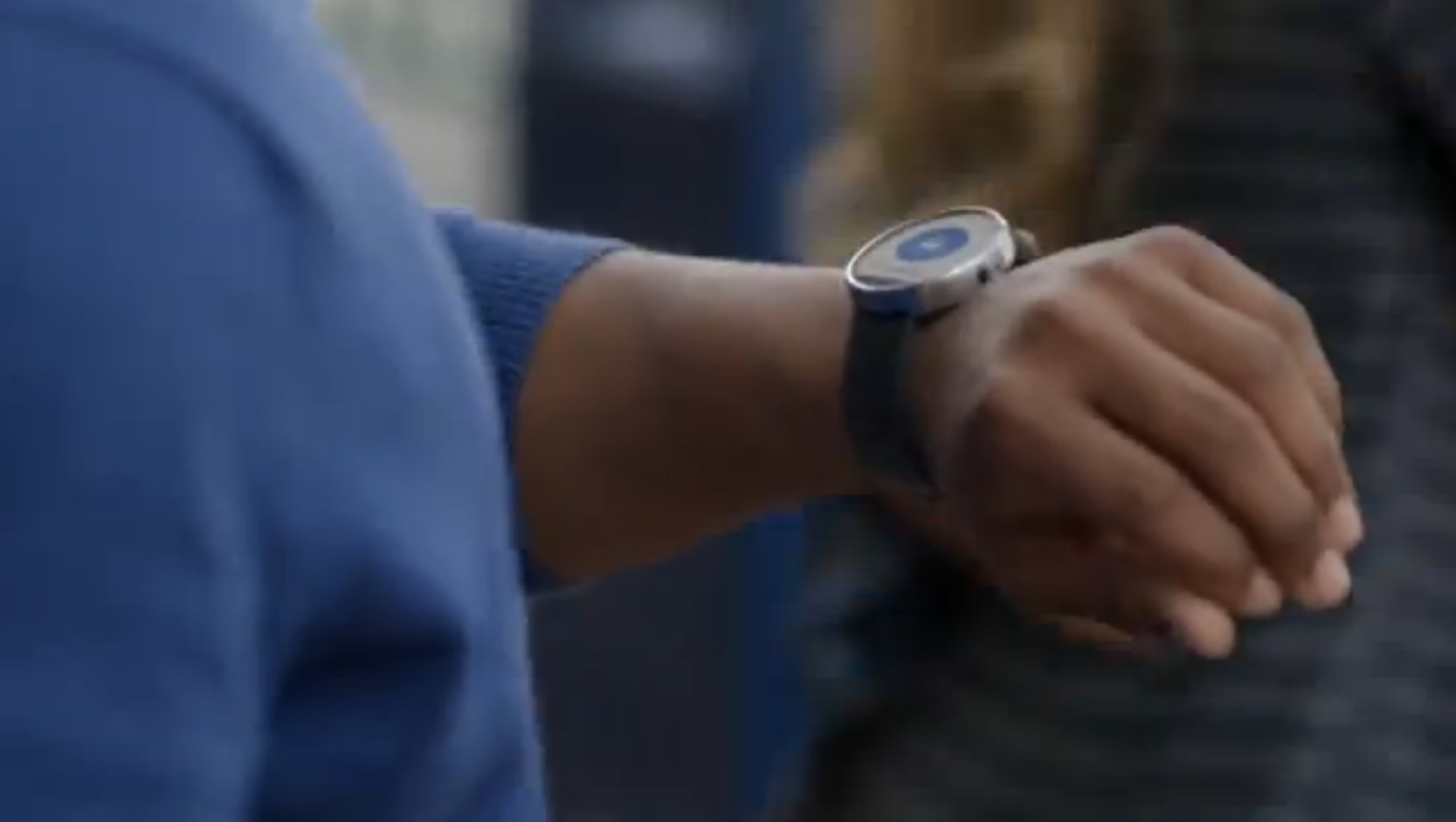 While the video showed examples, Google plans to partner with electronics firms to make the Android smartwatch a reality. (Image courtesy: Google)