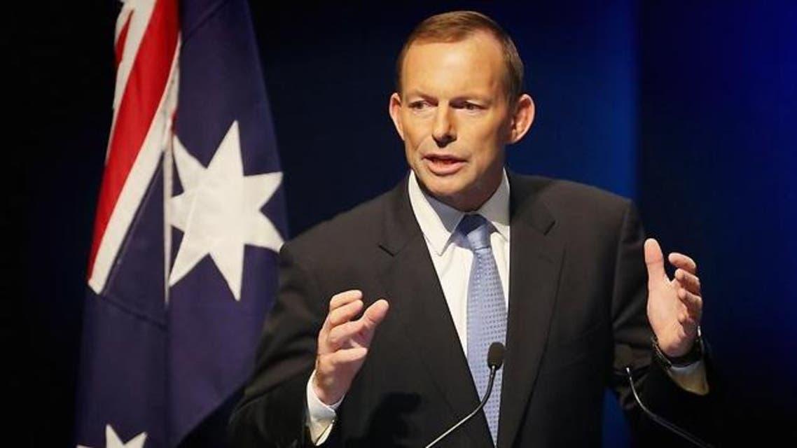 رئيس الوزراء الأسترالي توني أبوت