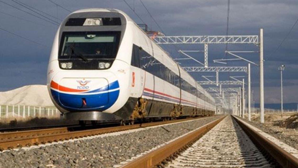 قطار في تركيا