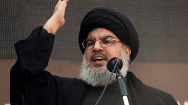 نصر الله يتعهد بالانتقام لتفجيري بيروت