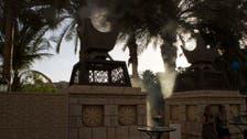 Emirati artist creates 'smoking' hot sculpture for Art Dubai