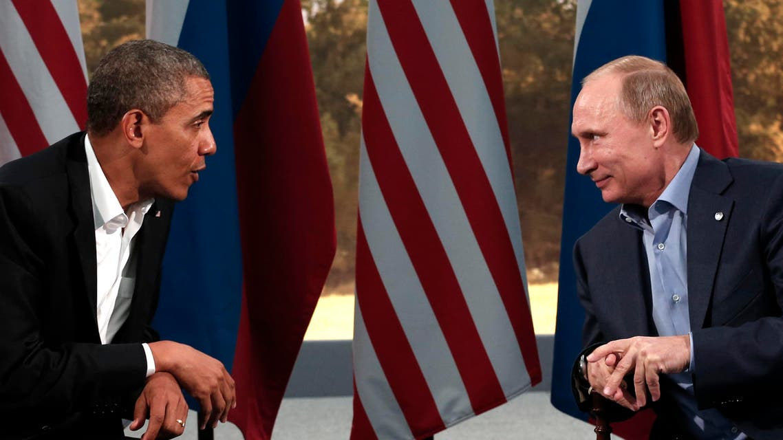U.S. President Barack Obama (L) pictured in a meeting with Russian President Vladimir Putin during a G8 Summit last June. (File photo: Reuters)