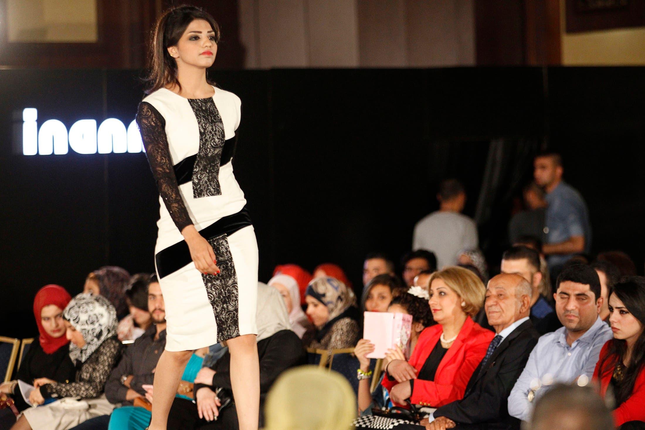 Fashion show in Baghdad