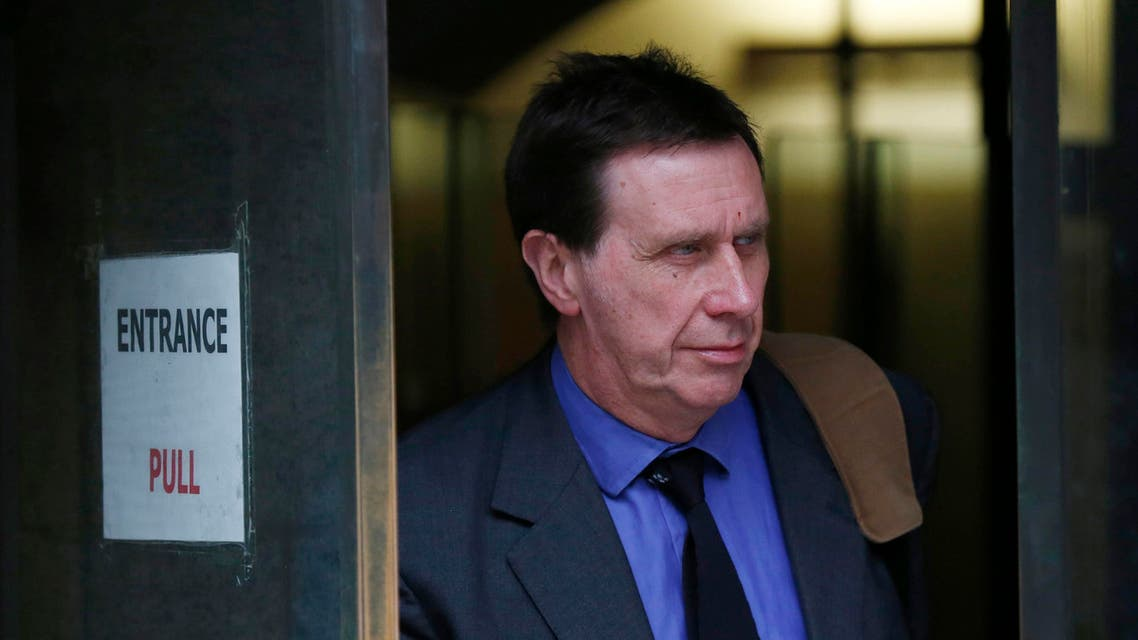 Clive Goodman, former royal editor of the News of the World, leaves the Old Bailey court in London on March 20, 2014. (Reuters)