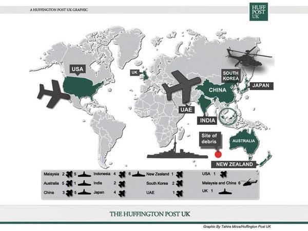 جهود دولية ضخمة للبحث عن الطائرة الماليزية المفقودة