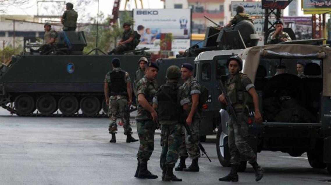 عناصر من الجيش اللبناني في طرابلس