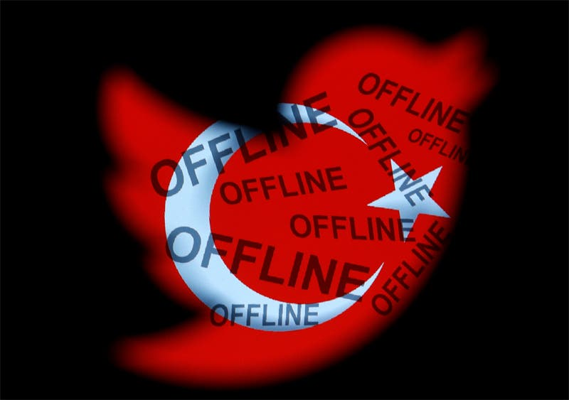 حجب تويتر في تركيا