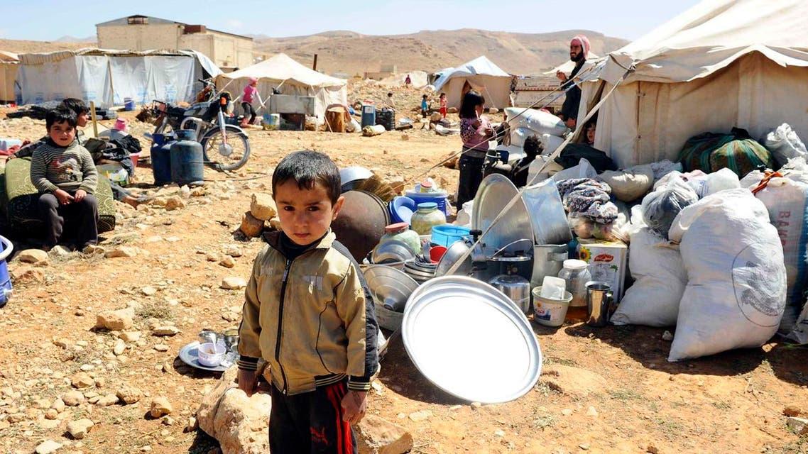 لاجئون سوريون لجوء لاجئين