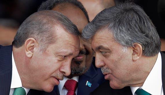 الرئيسان عبدالله غول ورجب طيب أردوغان