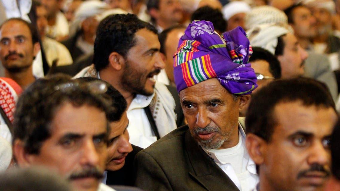 Yemeni tribesmen attend anti-extremism rally