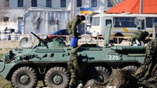 NATO says Russia massing troops at Ukraine border
