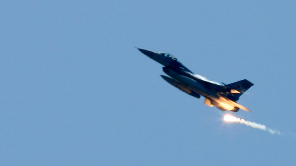 A Turkish Air Force F16 war plane fires during the EFES-2009 military exercise in Izmir May 26, 2009, (File photo Reuters)
