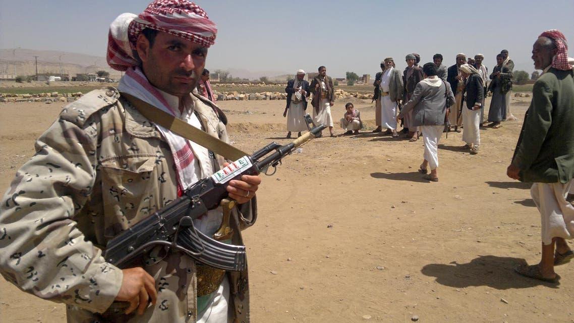 حوثيون في عمران اليمن