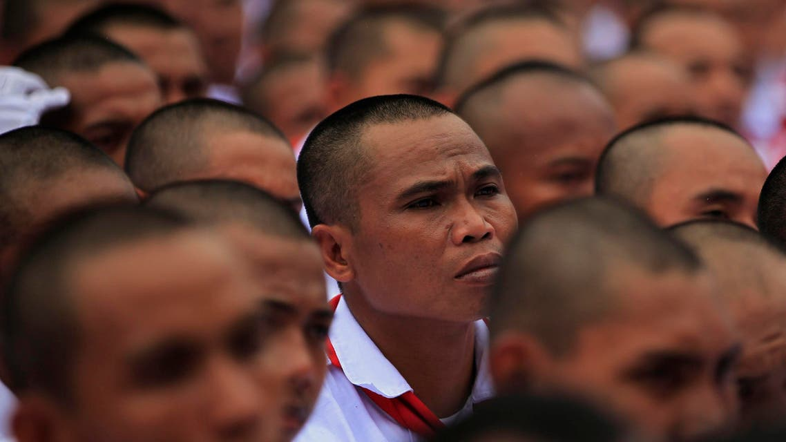 Indonesian candidate in campaign rally