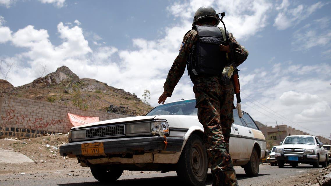 yemen checkpoint reuters