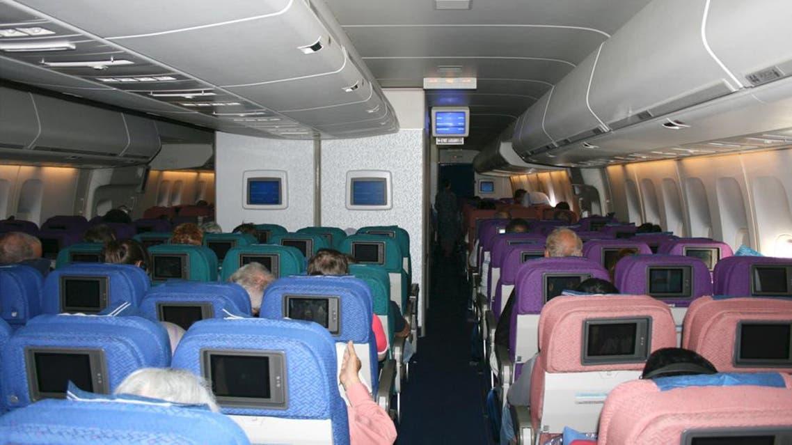 داخل طائرة ماليزية