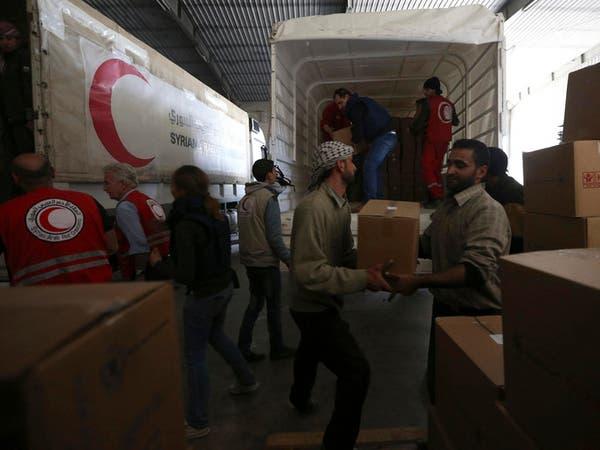 طرفا القتال في سوريا يعرقلان وصول المساعدات