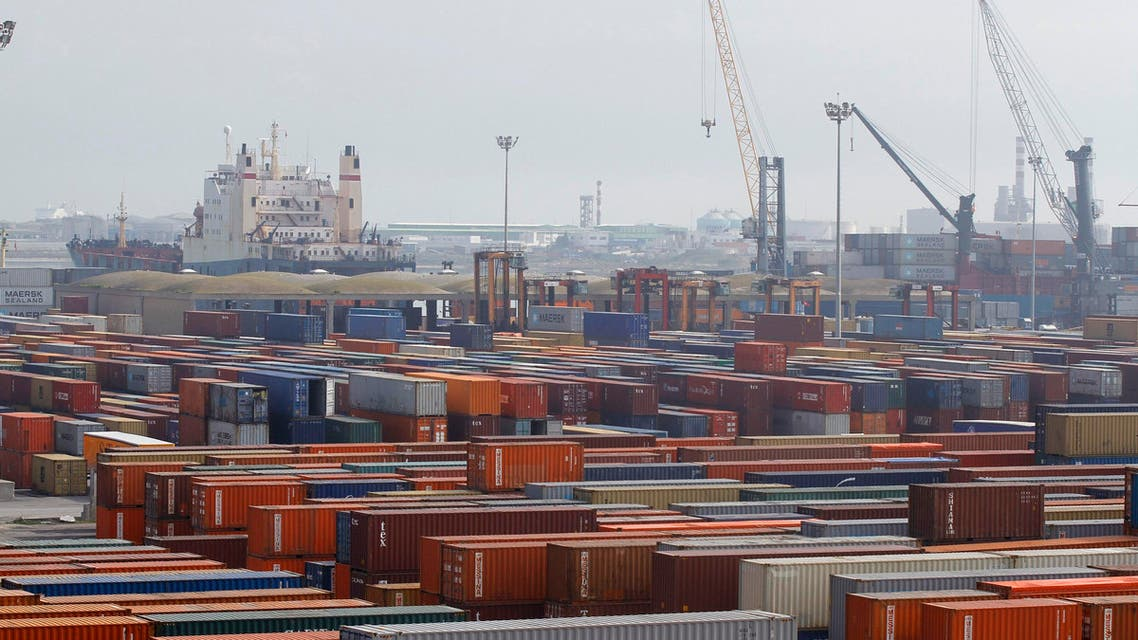 A shipping container at the port of Halk al-Wad, in Tunis, pictured on Feb. 19, 2013. (File photo: Reuters)
