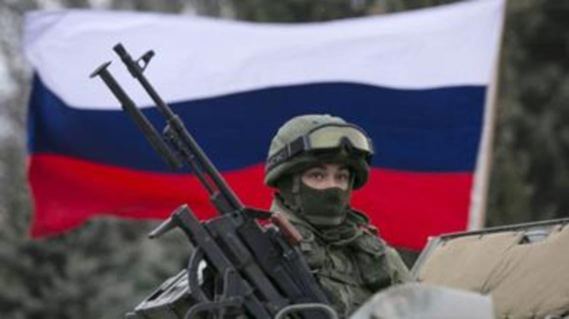 قوات روسية في القرم