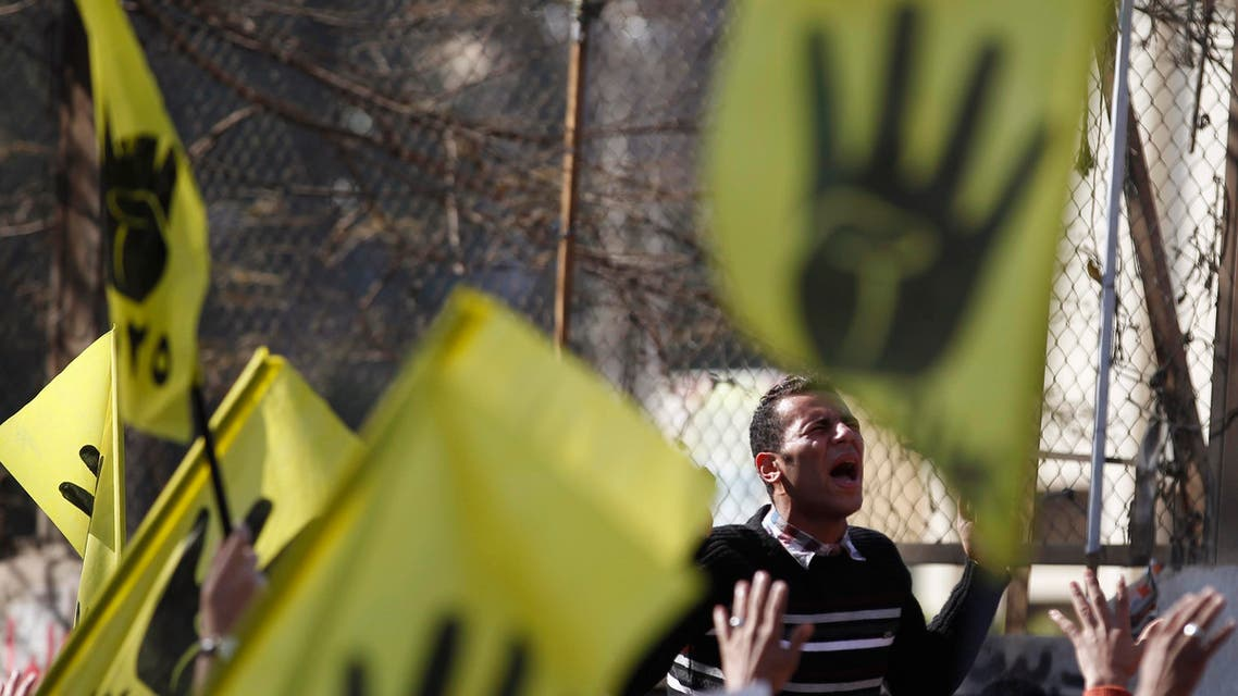 Muslim Brotherhood members sentenced for charges including murder, state TV reported. (File photo: Reuters)