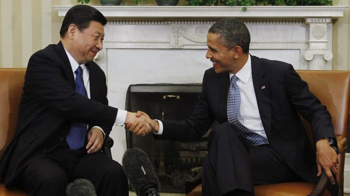 باراك أوباما ونظيره الصيني شي جين بينغ