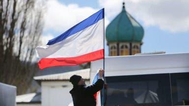 انفصاليون يسيطرون على مبان حكومية بشرق أوكرانيا