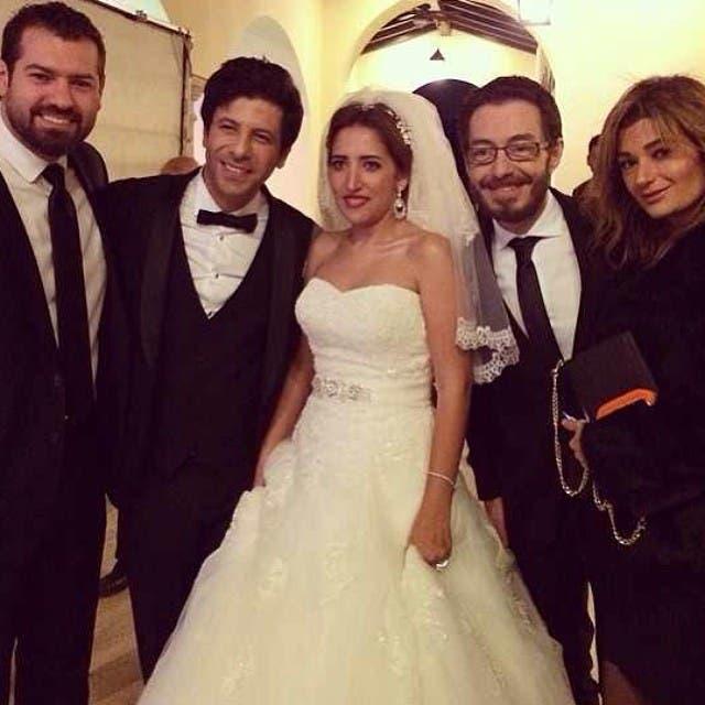 زواج إياد نصار و شيماء الليثي