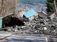 14 قتيلاً و108 مفقودين حصيلة انزلاق التربة في واشنطن