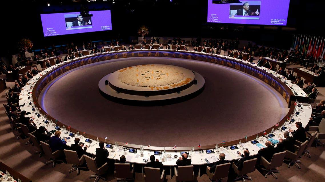 من اجتماع الدول على توقيع اتفاق لتعزيز الأمن النووي في لاهاي