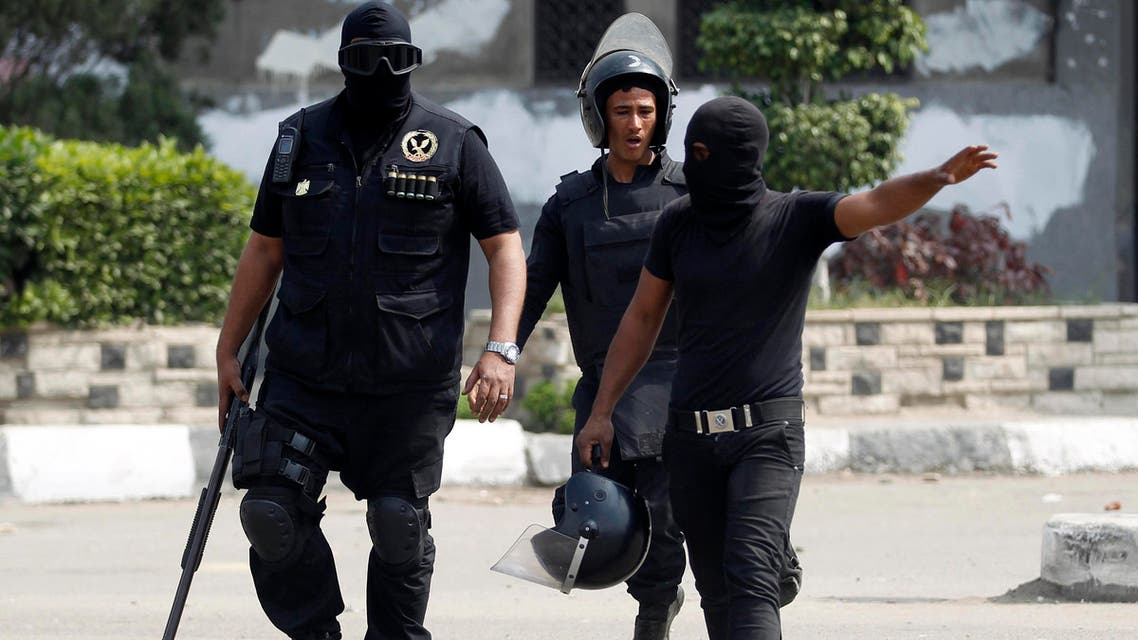 عنامر من قوات الشرطة المصرية