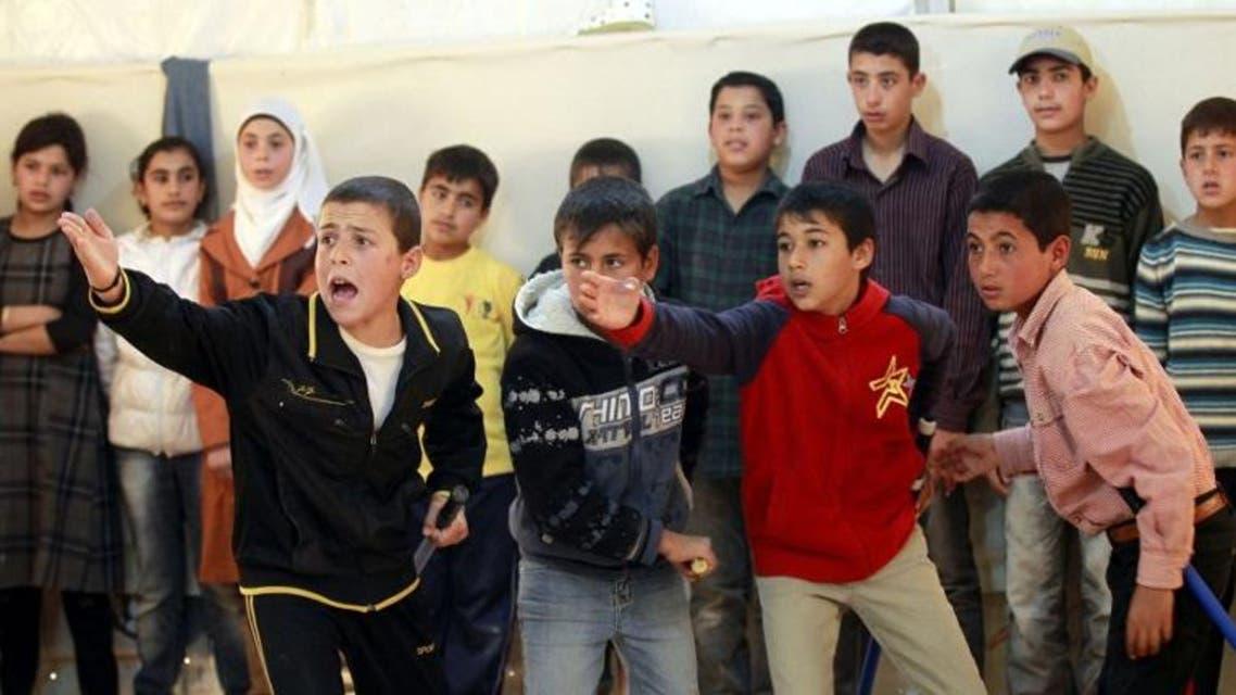 أطفال الزعتري