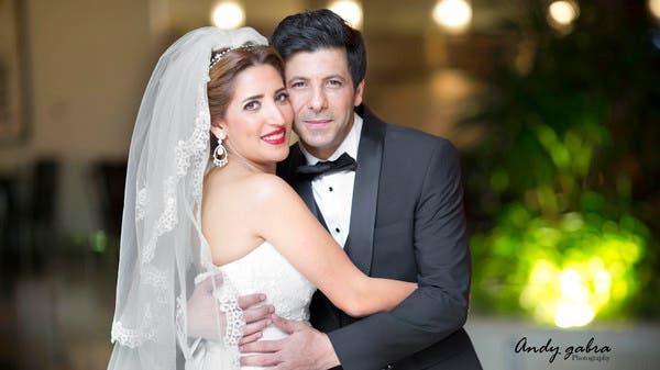 نتيجة بحث الصور عن إياد نصار وزوجته