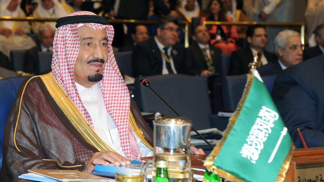 Saudi Crown Prince Salman bin Abdulaziz al-Saud attends the 25th Arab League summit at Bayan palace in Kuwait City on March 25, 2014. AFP