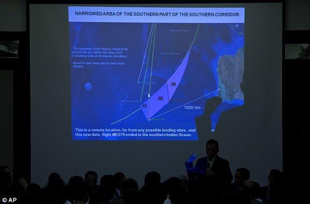 البحث عن الطائرة الماليزية