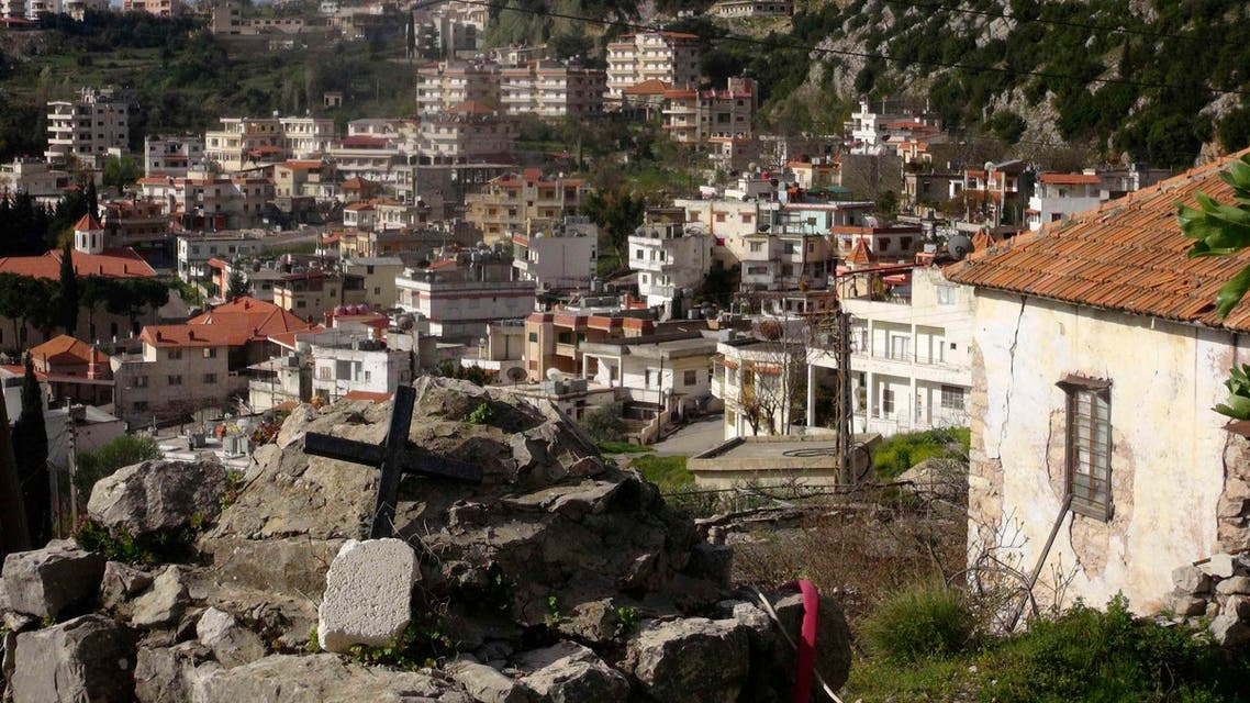 A general view shows the Armenian Christian town of Kasab after rebel fighters seized it March 24, 2014. Reuters