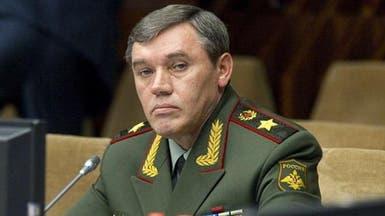 علم روسيا يعلو كل مقار الوحدات العسكرية بالقرم