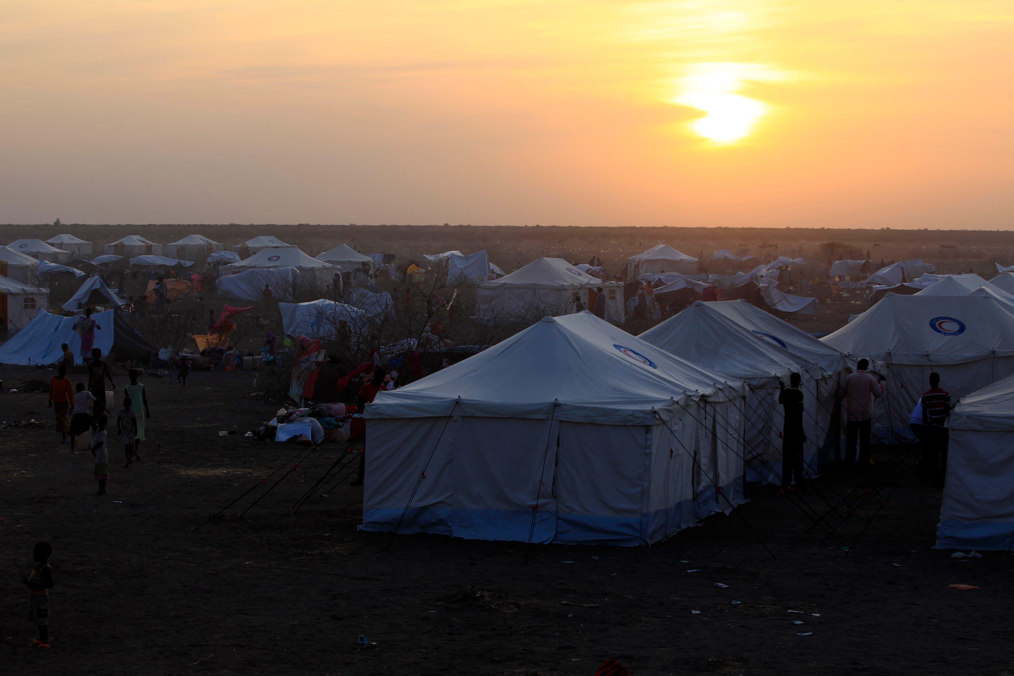 south sudan camp reuters