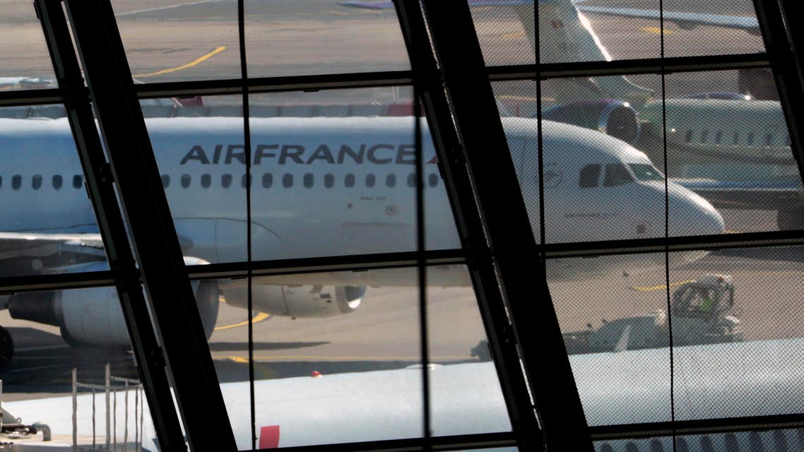 An Air France plane is seen on the tarmac at Nice International airport in Nice July 31, 2013. (Reuters)