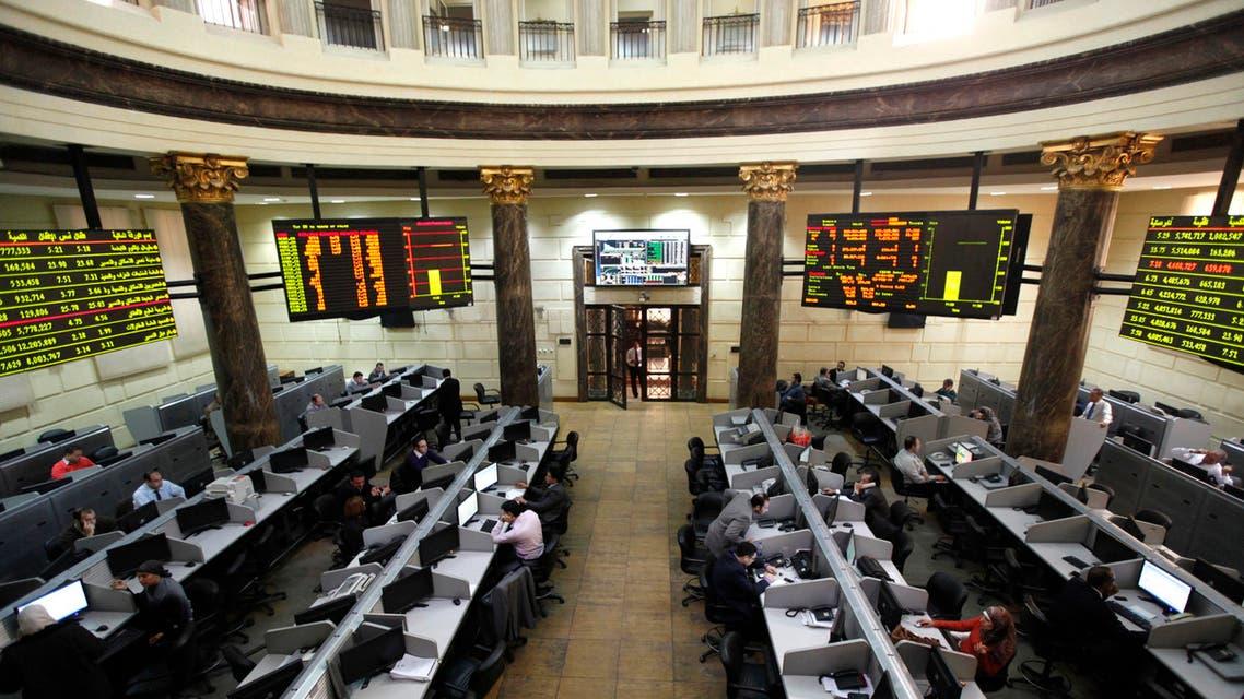 Egypt's benchmark stock index has risen by 25 percent this year. (File photo: Reuters)
