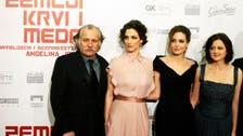 Angelina Jolie in Bosnia on mission against rape in war