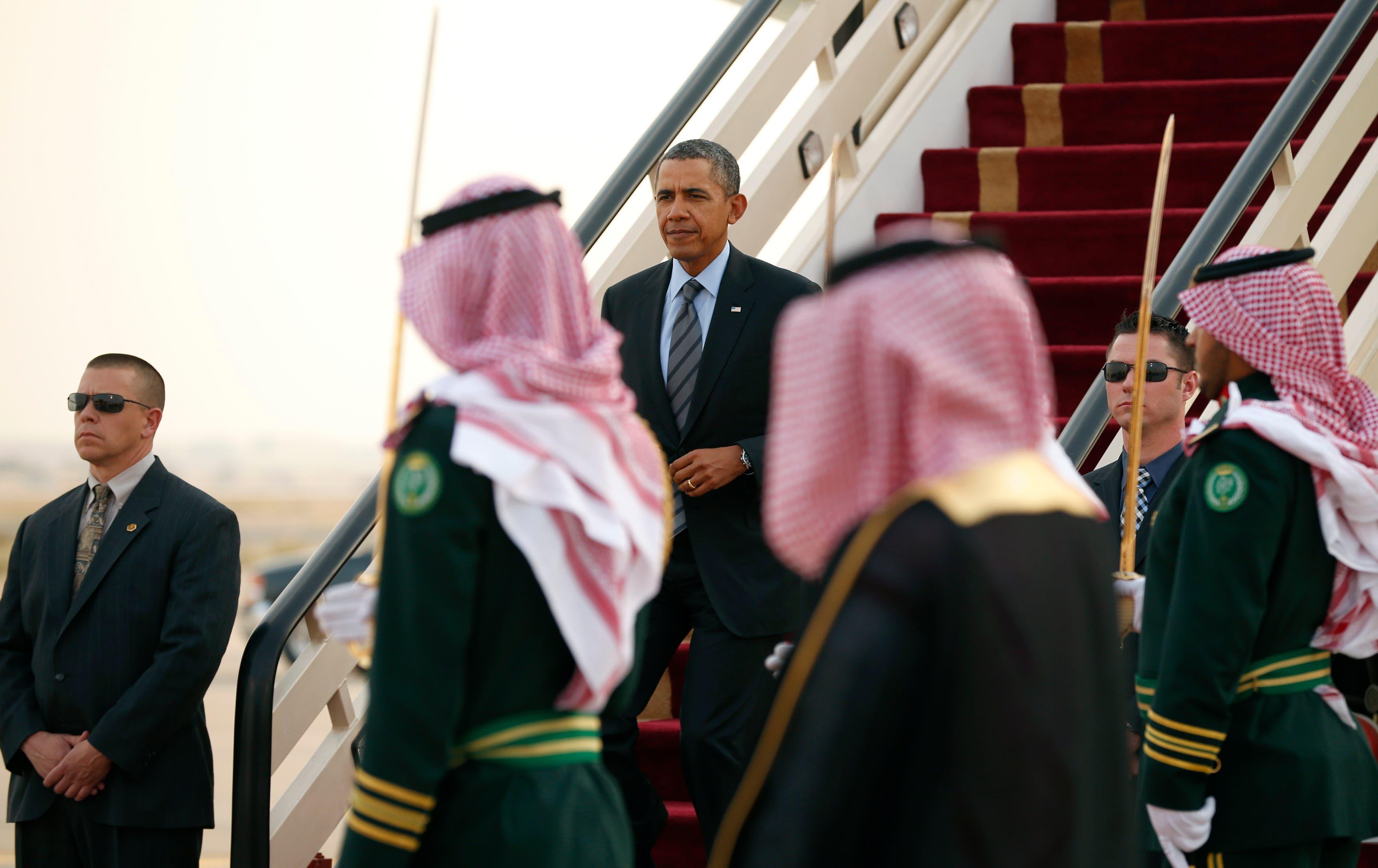 Barack Obama in Saudi Arabia